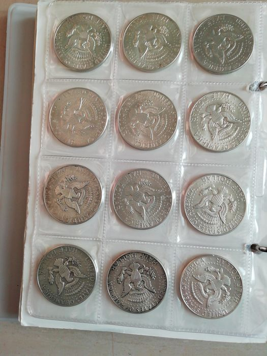 World - Lot various coins 1717/1981 (± 129 pieces) with many silver + album