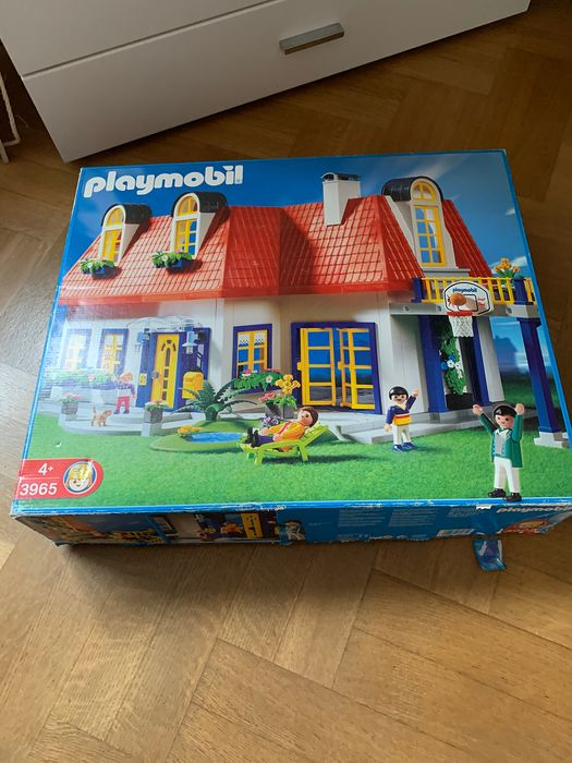 Playmobil - 3965 - Modern House NEW Retired + bedroom and city car - 2000-present - Germany