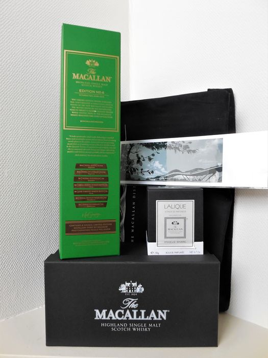 Macallan Edition No 4 with Limited Distillery pack 2018  - Original bottling - 700ml