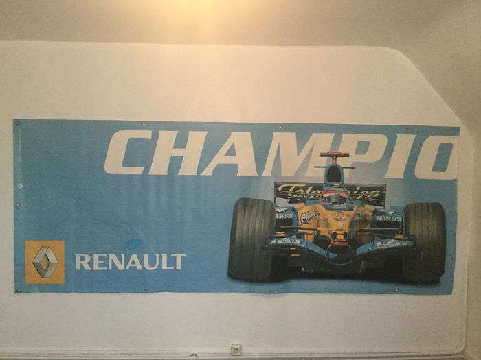 Affiche renault Pilote Alonso  - 2005