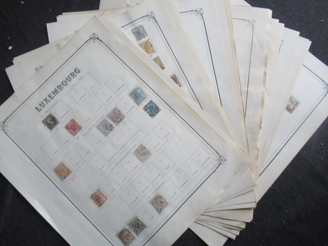 Luxemburg en Litouwen - Collection of stamps