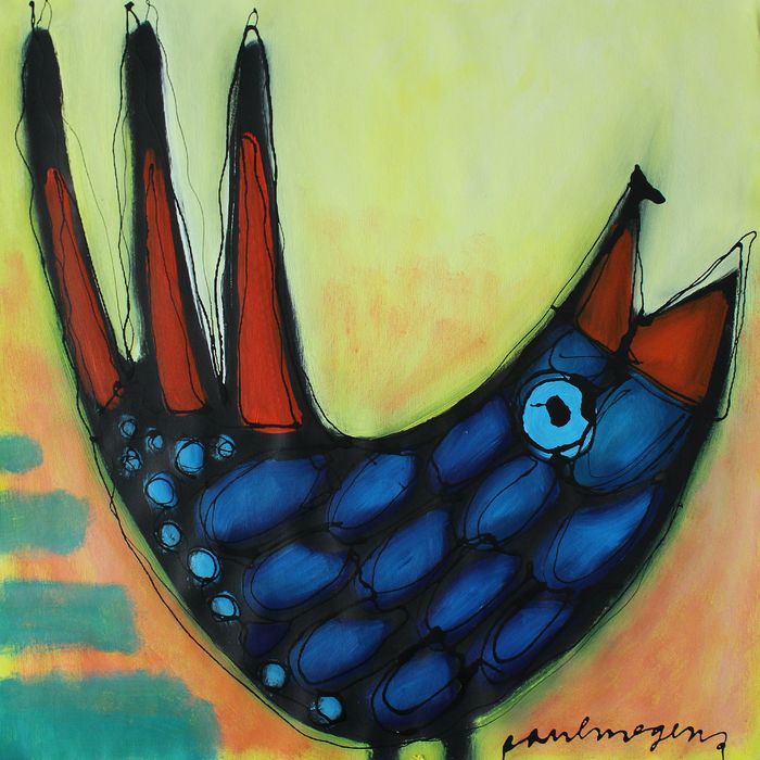 Paul Megens - 'Blue bird'