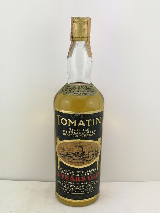 Tomatin 5 years old - b. 1970s - 75cl