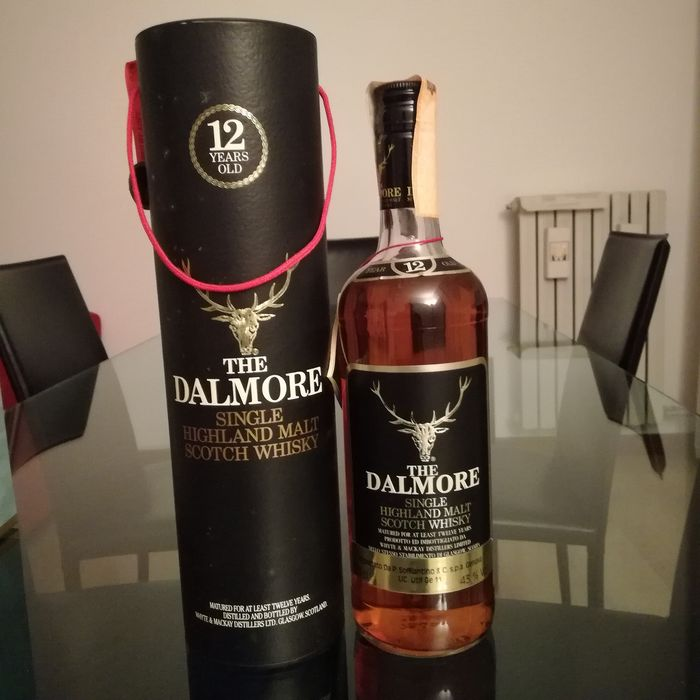 Dalmore 12 years old Soffiantino import - b. appr. 1980 - 75cl