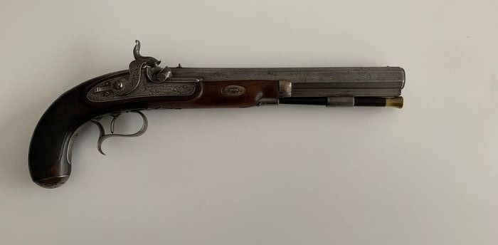 United Kingdom - Hollis and Son - Percussion - Pistol - 14mm cal