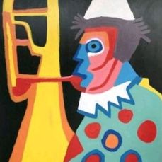 Eric Jan Kremer - Clown uit de serie Cobra Art