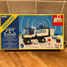 LEGO - Classic Town - 6450 - Coche Mobile Police Truck - 1980-1989 - Países Bajos