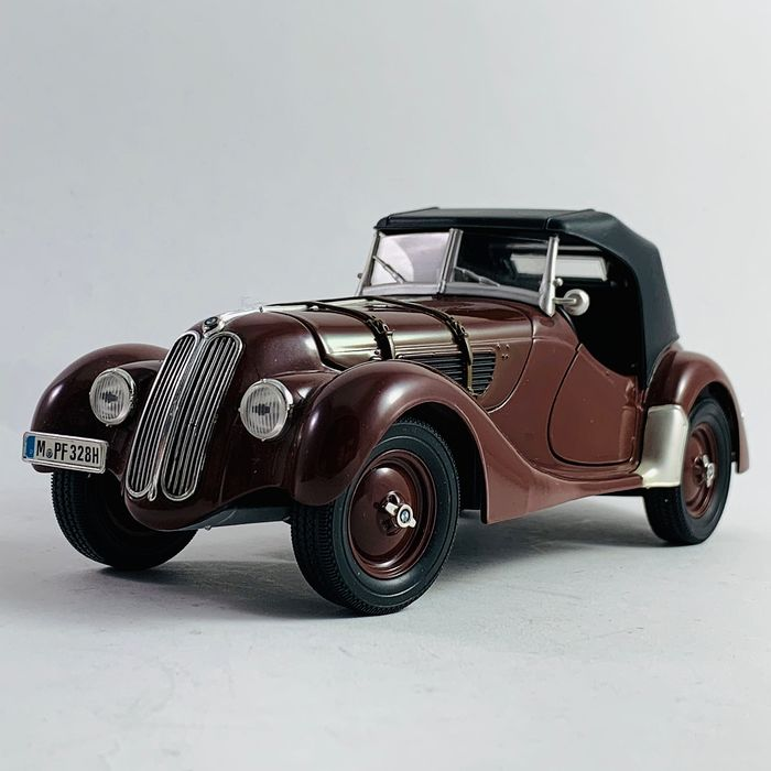 Ricko - 1:18 - BMW 327 Convertible from 1937 - Zeer mooie Modell