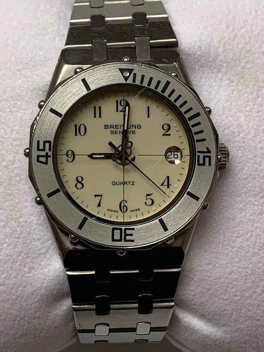 """Breitling - Eric Tabarly - """"NO RESERVE PRICE"""" - 80770 - Men - 1980-1989"""