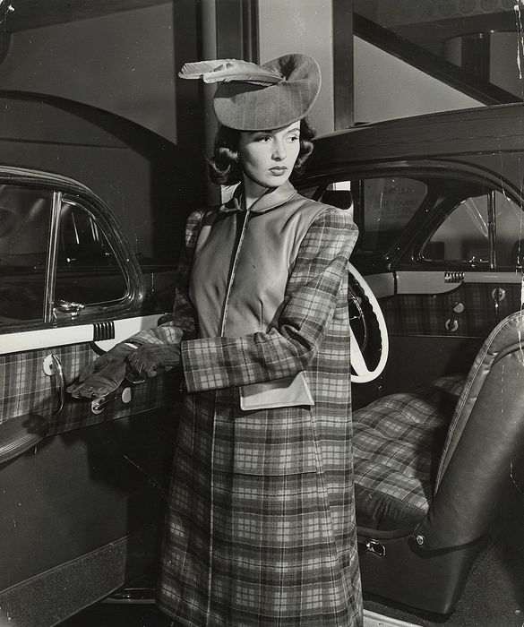 "Alfred Eisenstaedt (1898-1995) - ""Fashions From New Car Styles"", 1941"