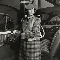 """Alfred Eisenstaedt (1898-1995) - """"Fashions From New Car Styles"""", 1941"""