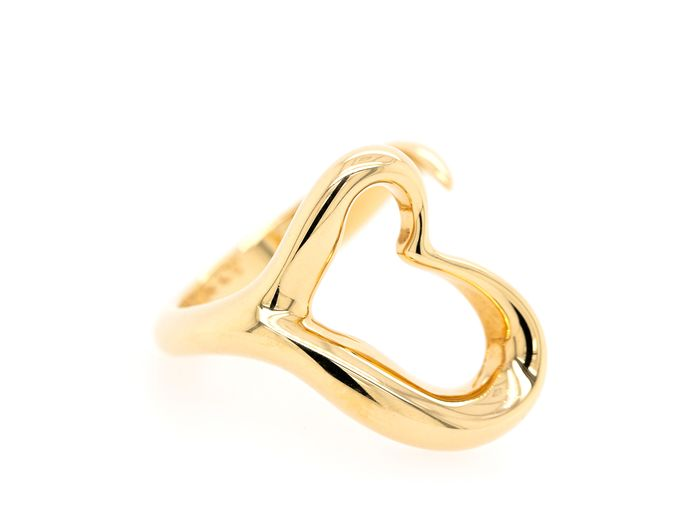 Tiffany - 18 kt. Yellow gold - Ring - Elsa Peretti Open Heart Ring