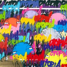 UTOPIA - Bubbles of Street - swimming in tags-