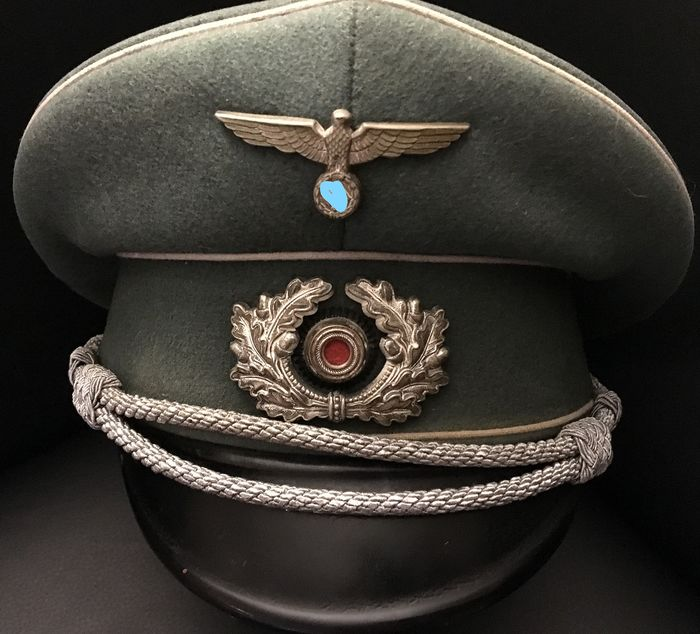 Germany - Army/Infantry - Wehrmacht Schirmmütze for officer