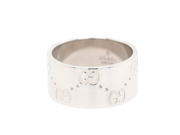 Gucci - 18 kt. White gold - Ring - ICON