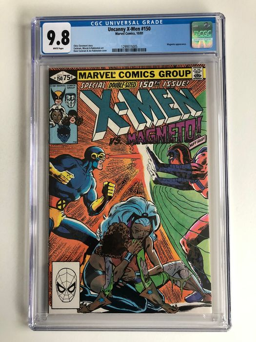 X-men #150 - Magneto Appearance - CGC Graded 9.8!!! - Extremely High Grade!! - Softcover - Eerste druk - (1981)
