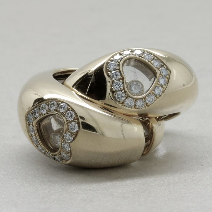 Chopard - 18 kt Gold - Ohrringe - 0.70 ct Diamant