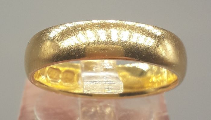 Wedding Band - 22 kt. Yellow gold - Ring