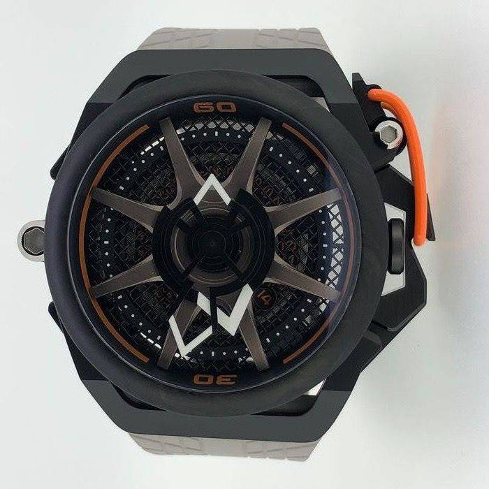 Mazzucato - RIM Reversible Monza Carbon Fiber Orange Automatic and  Chronograph  - LIMITED EDITION - Men - brand new