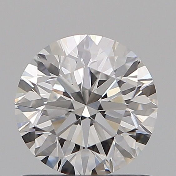 1 pcs Diamond - 0.70 ct - Brilliant - D (colourless) - IF (flawless), **3EX***