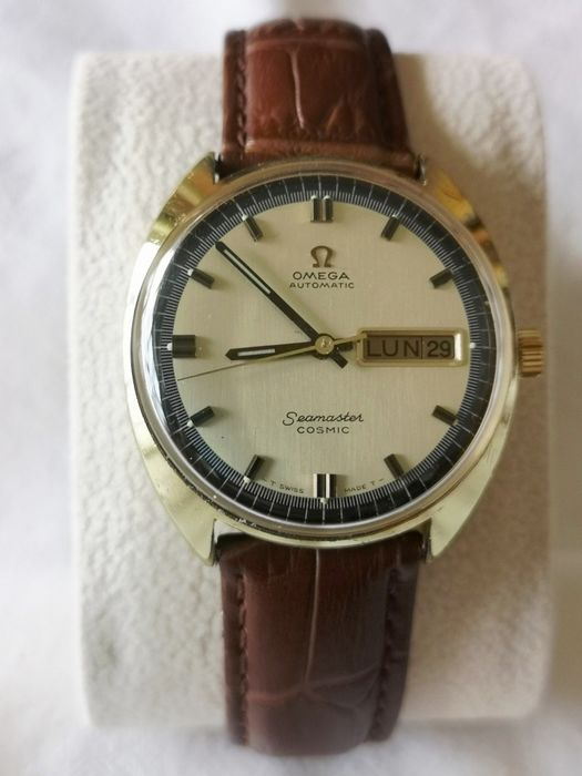 Omega - Seamaster Cosmic Day Date - Cal. 752 - Hombre - 1970-1979