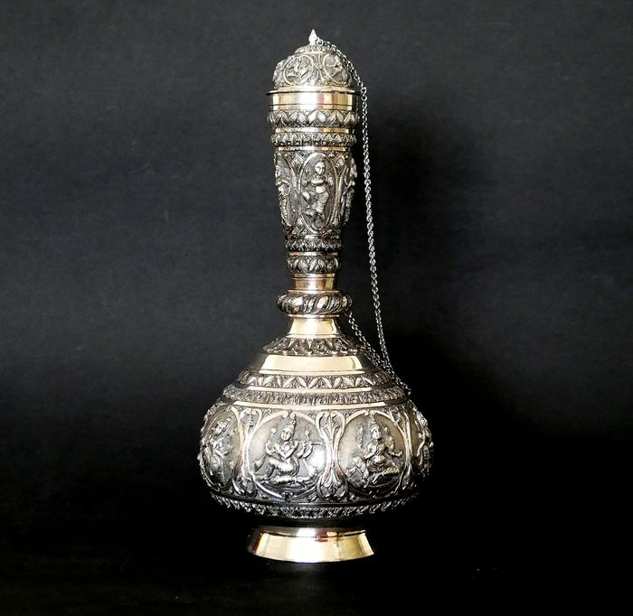 Flask - Silver +800 - India