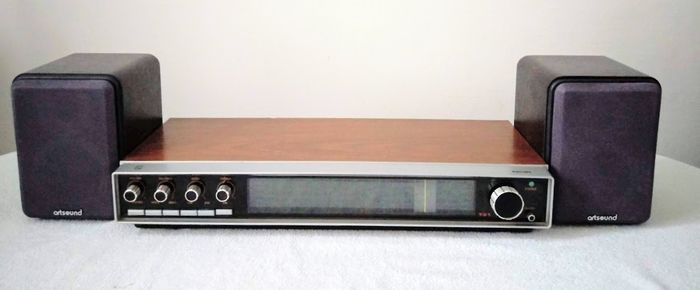 Philips 701 + Artsound - AS-150 - Speaker set, Stereo receiver