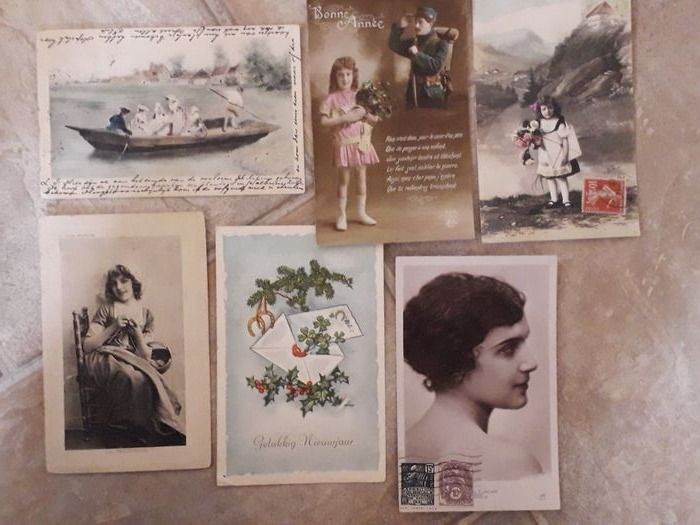 Netherlands - Fantasy - Postcards (Collection of 150) - 1909-1963