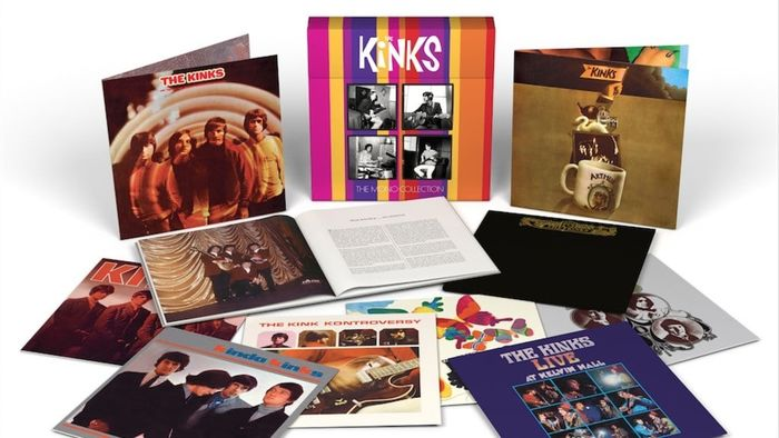 Kinks - The Mono Collection contains 10 records from 1964 to 1969, all on 180g vinyl - Multiple titles - LP Box set - 2016/2016