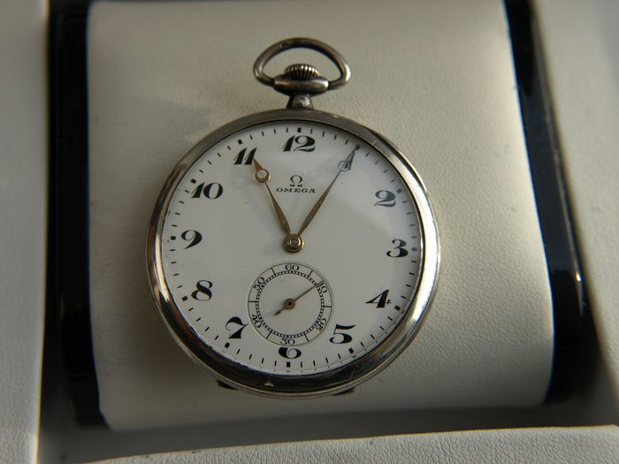 Omega - Silver pocket watch - 5903589 NO RESERVE PRICE  - Hombre - 1901 - 1949