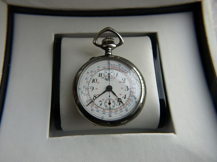 N. Nachtigall / Fabrique d'Horlogerie Neten Watch -   pocket watch NO RESERVE PRICE - Homme - 1901-1949