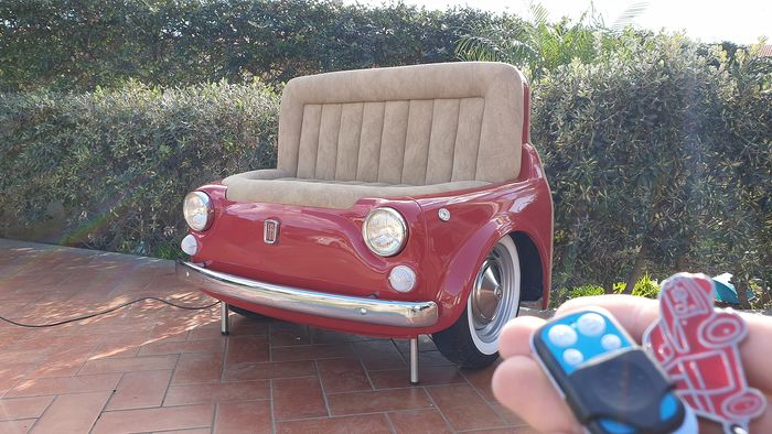 Artigo decorativo - Fiat 500 Sofa - 2000-2018