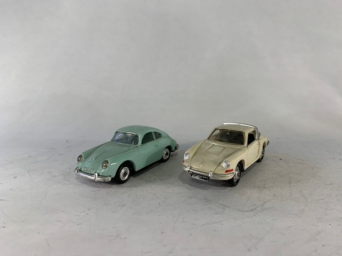 Norev - 1:43 - Porsche 356 & Porsche 911 - Made in France
