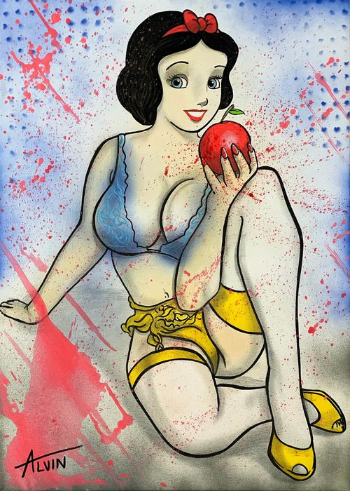 Alvin Silvrants - Disney Curvy Snow White Apple