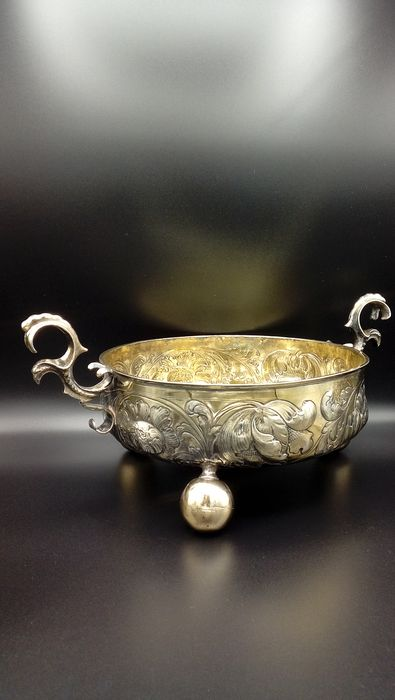 Bowl (1) - Silver - Germany - Early 19th century