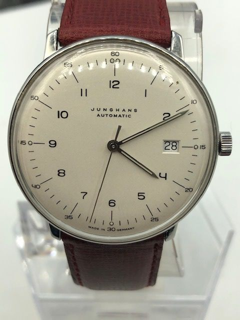 "Junghans - Max Bill Automatic-Date - ""NO RESERVE PRICE""  - 027/4700.00 - Bărbați - 2000-2010"