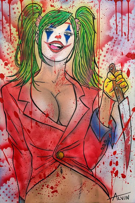 Alvin Silvrants - Harley Quinn as The Joker