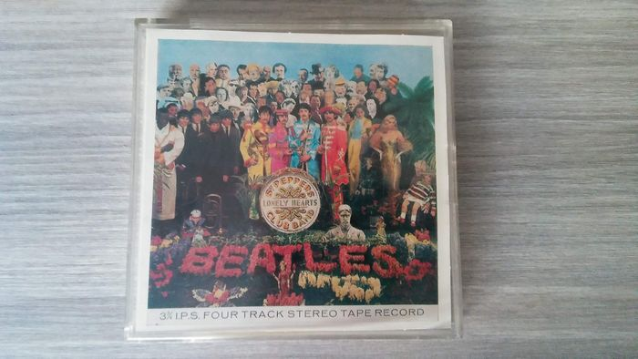 Beatles - Sgt. Pepper's Lonely Hearts Club Band - Four Track Stereo Tape Record - 1967/1967
