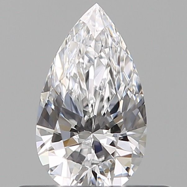 1 pcs Diamond - 0.40 ct - Pear - D (colourless) - IF (flawless)