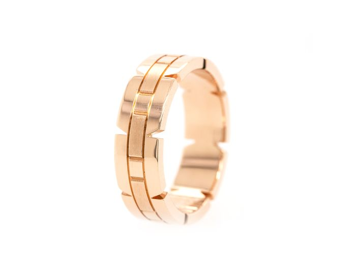 Cartier Tank Francaise   - 18 kt. Pink gold - Ring