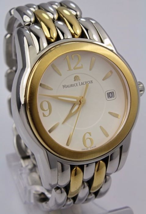 Maurice Lacroix - 18 kt Gold Plated Two Tone (SH1018) - SH1018 - Homem - 1990-1999