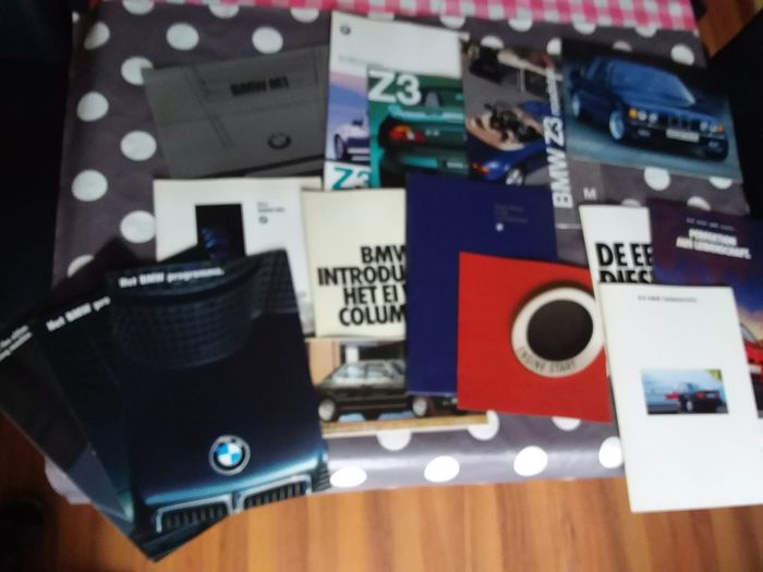 Brochures / catalogues - BMW - M1, 850, Z3 Roadster, M5, range/Programm(a) - 1978-1999
