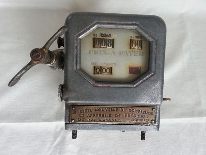 Taximeter Taxi Counter 1950 - 1950