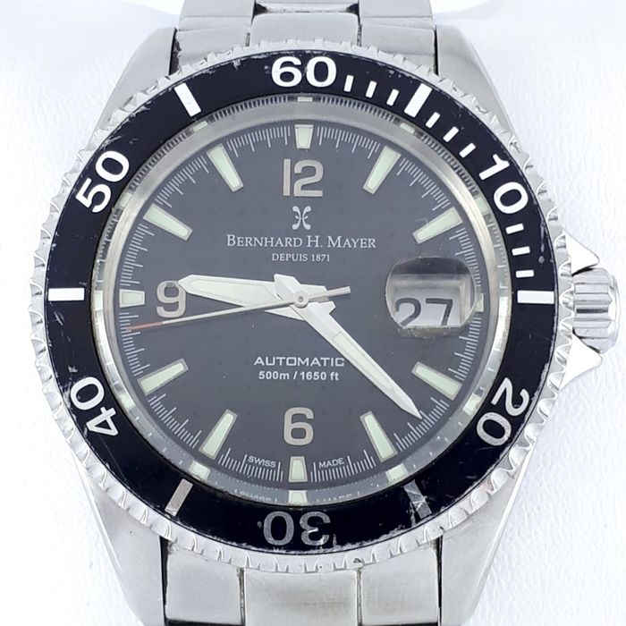 "Bernhard H. Mayer - Nauticus Automatic Limited - ""NO RESERVE PRICE"" - Men - 2011-present"