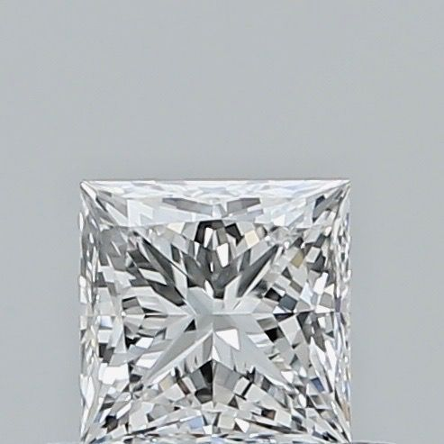 1 pcs Diamond - 0.41 ct - Princess - E - IF (flawless), ***no reserve***
