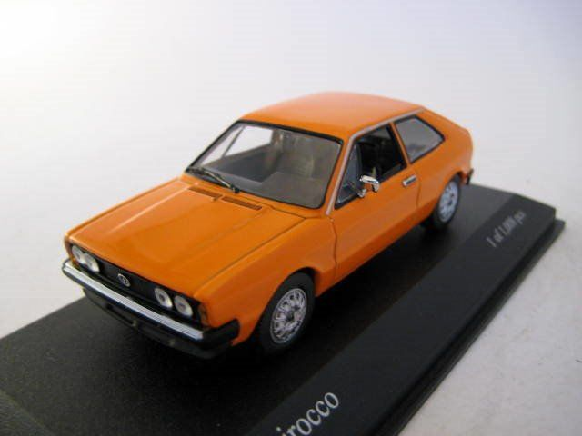 MiniChamps - 1:43 - Volkswagen Scirocco 1974 Nepalorange - Limited Edition - Mint Boxed - Factory Sold Out