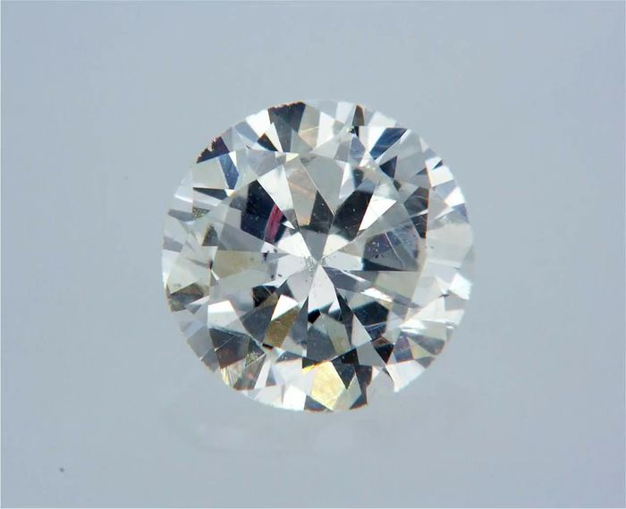 1 pcs Diamond - 0.52 ct - Στρογγυλό - G - VS2