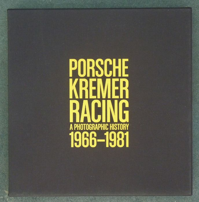 Boeken - Porsche Kremer Racing A Photographic History 1966-1981 - Very Rare! - Limited Edition No 420/1000 - 2010