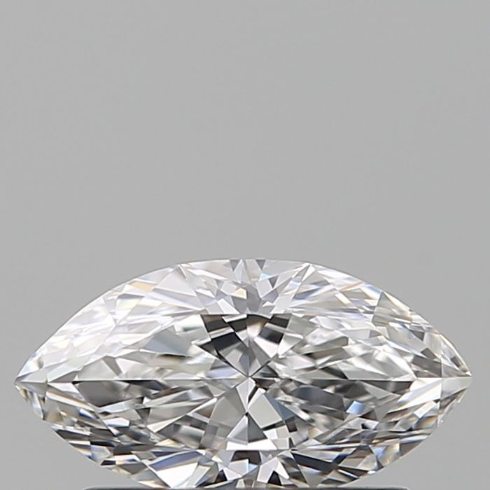 1 pcs Diamond - 0.42 ct - Marquise - D (colourless) - IF (flawless), ***low reserve***