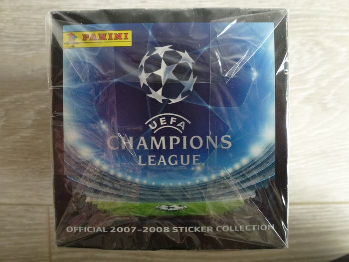 Panini - Original sealed box Champions League 2007/08